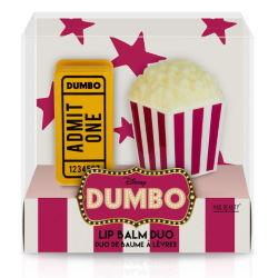Dumbo Ticket & Popcorn Lip Balm